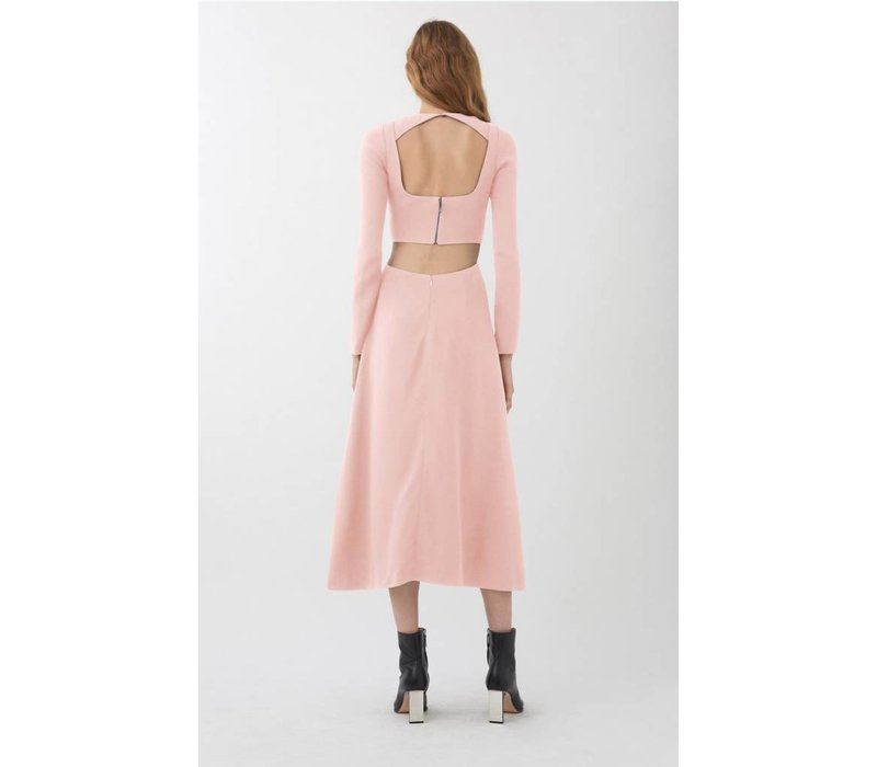 Dion Lee Cady Tessellate Long Sleeve Dress