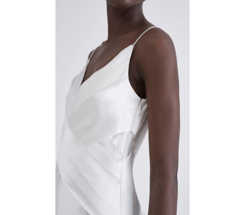 Dion Lee Silk Bias Weave Dress