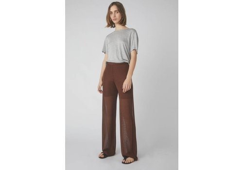 Temperate Metallic Trouser