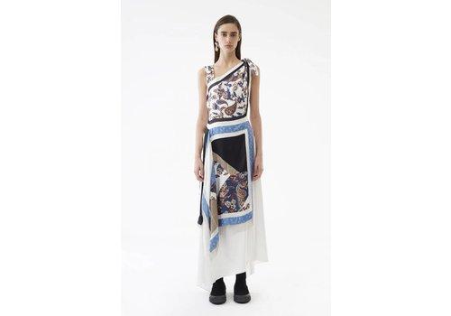 3.1 Phillip Lim Patchwork Handkerchief Dress