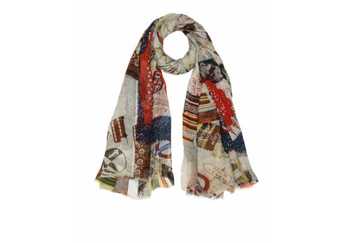 Faliero Sarti London Love Scarf