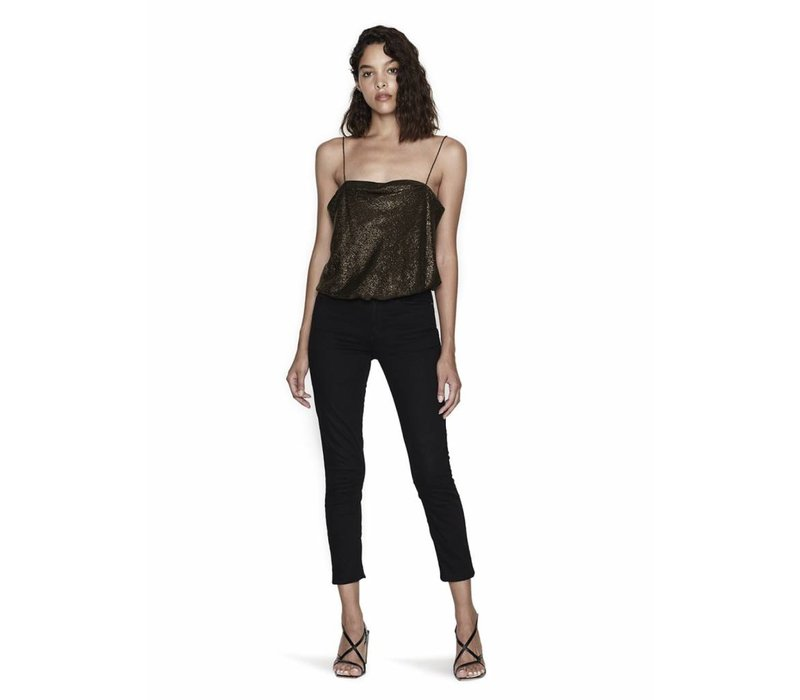 Alix NYC Dean Metallic Bodysuit