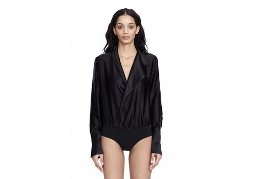 Alix NYC Reade Silk Bodysuit