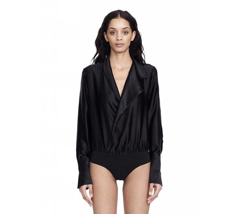 Alix NYC Reade Silk Bodysuit