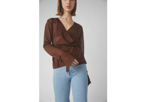 Kellie Mid Wrap Blouse