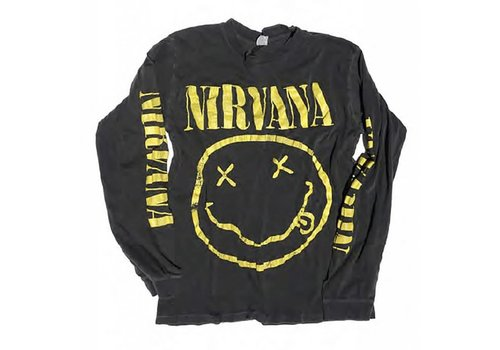 Madeworn Nirvana Long Sleeve Tee