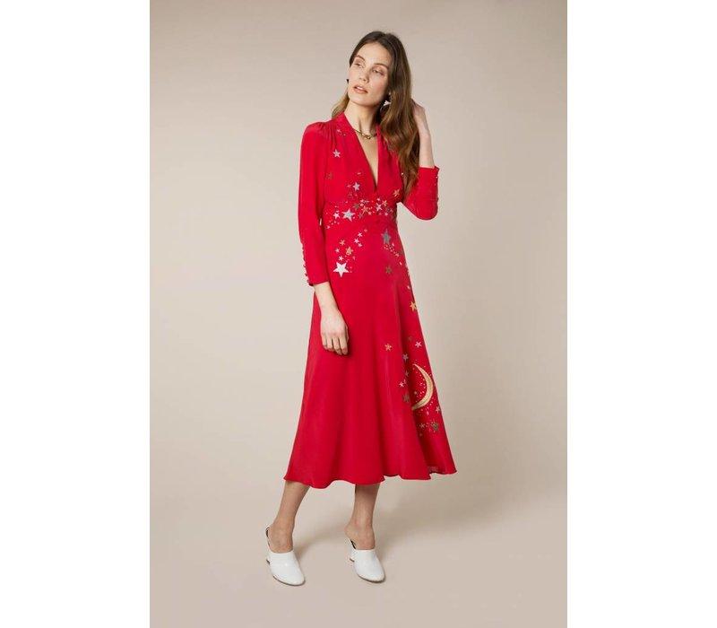 RIXO Margo Panel Dress