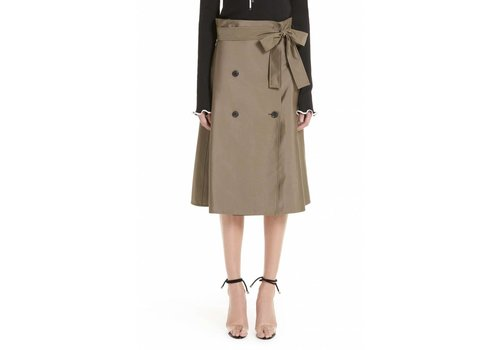 Adeam Trench Skirt