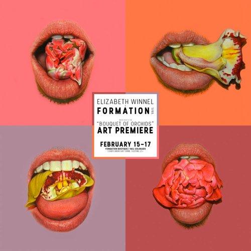 """""""Bouquet of Orchids"""" by Elizabeth Winnel   Art Premier"""
