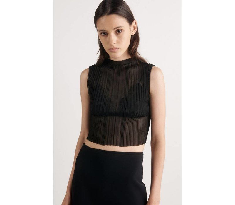 Dion Lee Opacity Pleat Tee