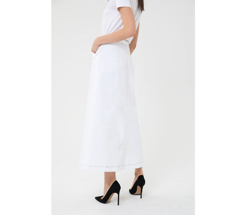 3x1 Jason Wu Long Skirt