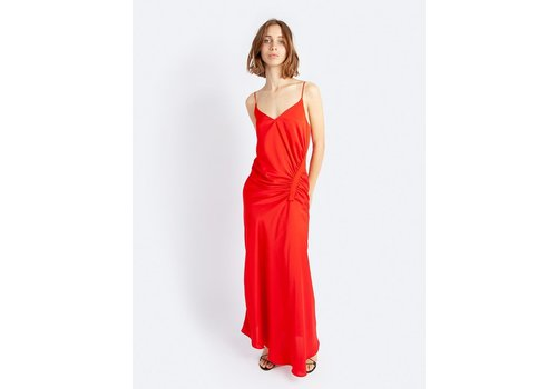 Incline Gathered Gown