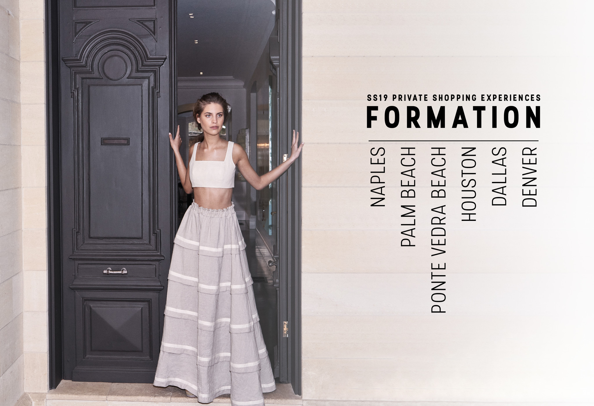RSVP NOW | Formation SS19 Private Shopping Experiences