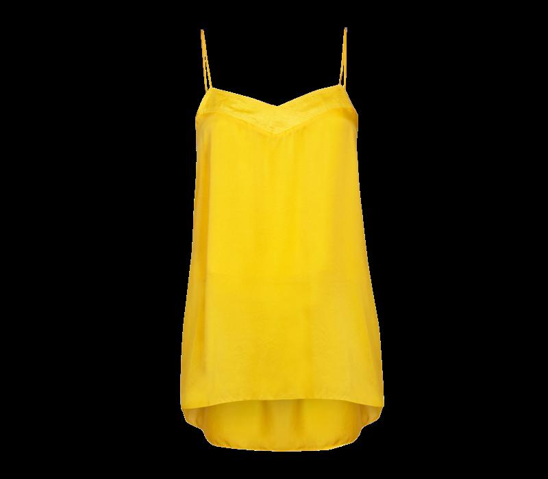 Arje Ana Oriental Silk Cami Top