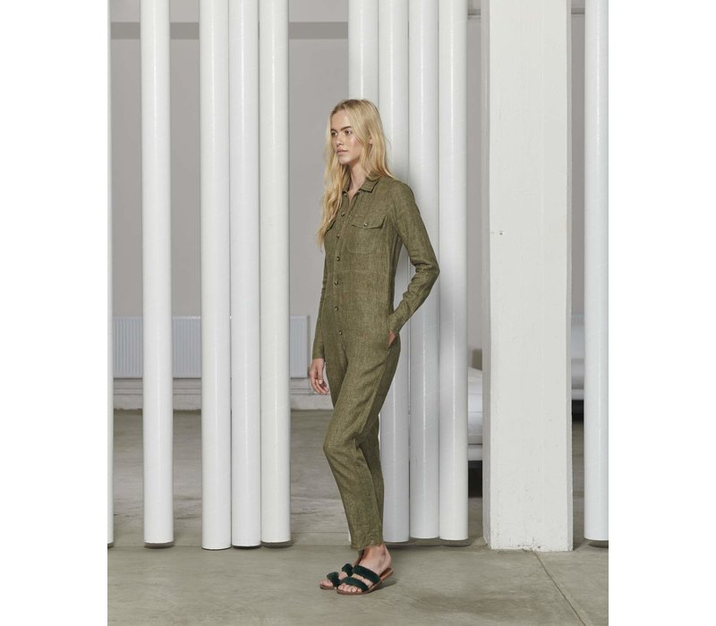 White Story Gracie Boiler Suit