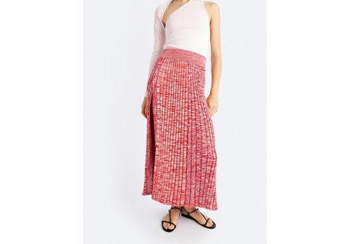 Speckled Flare Skirt