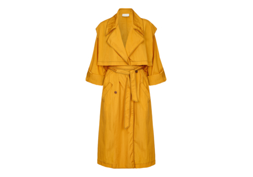 Arje Dione Water Resistant Trench Coat