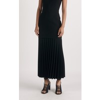 Dion Lee Linear Pleat V Neck Dress