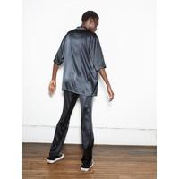 6397 News Short Sleeve PJ Top