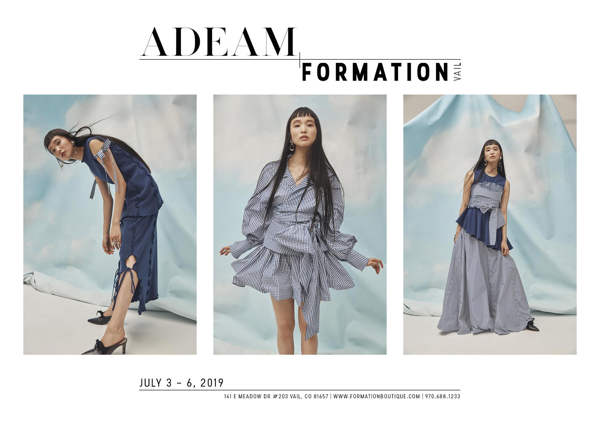 Adeam Trunk Show | In Store Event