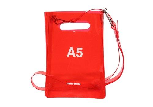 nana-nana nana-nana PVC A5 Bag