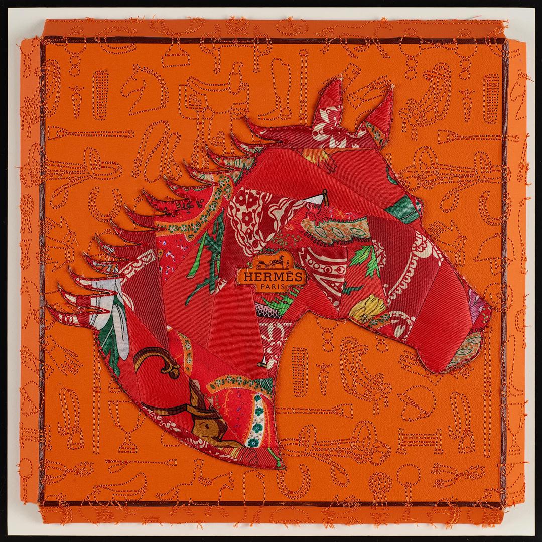 Hermes Red Horse
