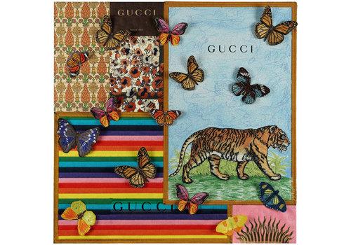 "Stephen Wilson ""Gucci Collage II"""