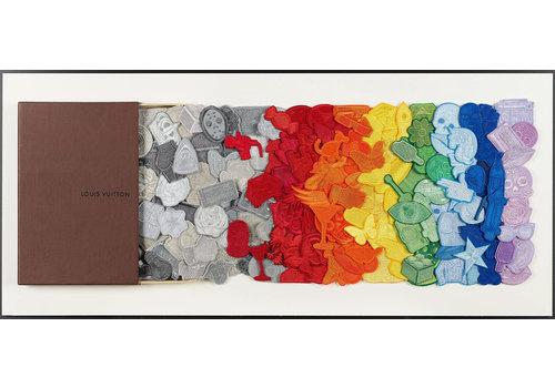 "Stephen Wilson Stephen Wilson ""LV Rainbow Drawer"""
