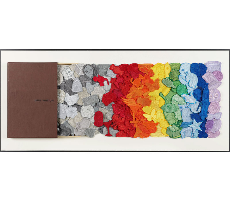 "Stephen Wilson ""LV Rainbow Drawer"""