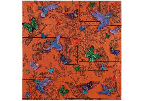 "Stephen Wilson ""Hummingbird Boxscape"""