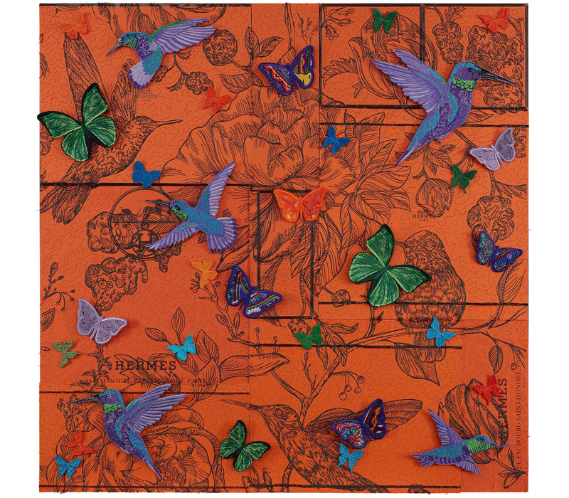 "Stephen Wilson ""Hummingbird Boxscape"""