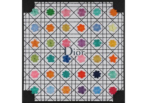 """Stephen Wilson """"Dior Flower Grid"""""""