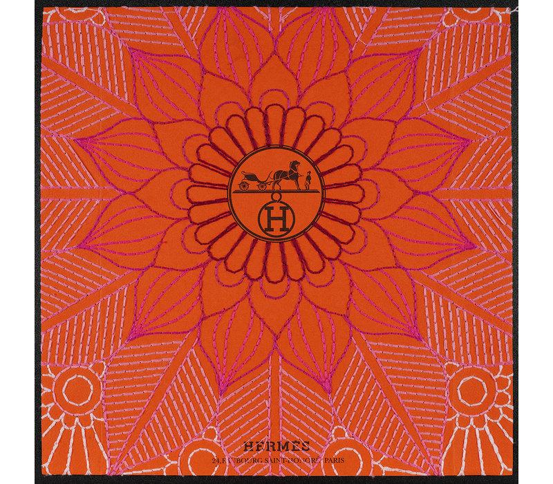 """Stephen Wilson """"Hermes Pink Mandala"""""""