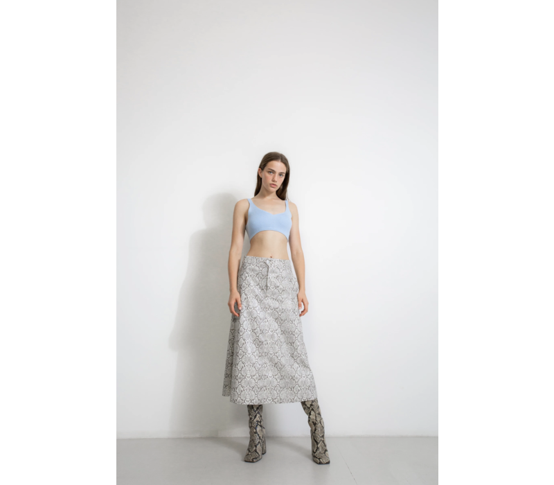 Georgia Alice Snake Skirt