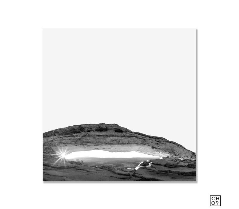 """Austin Chow """"Sunrise at Mesa Arch // Utah"""""""