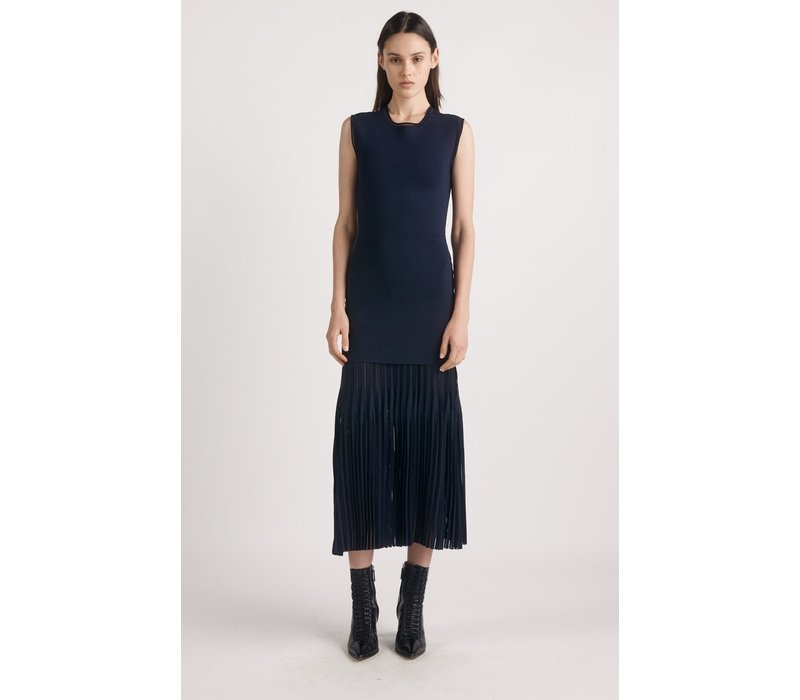 Dion Lee Godet Pleat Skirt