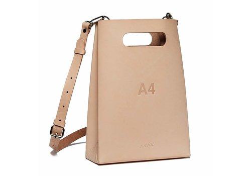 nana-nana Leather A4 Bag