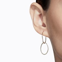 Shihara Oval Form Earring 01 20mm