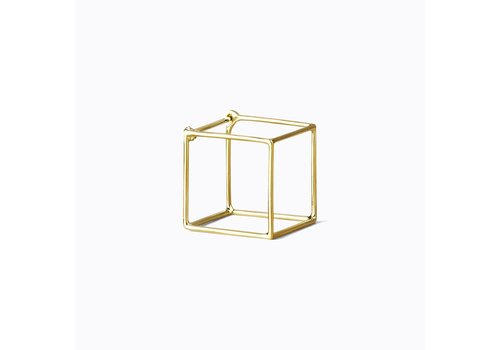 Shihara 3D Square Earring 15mm