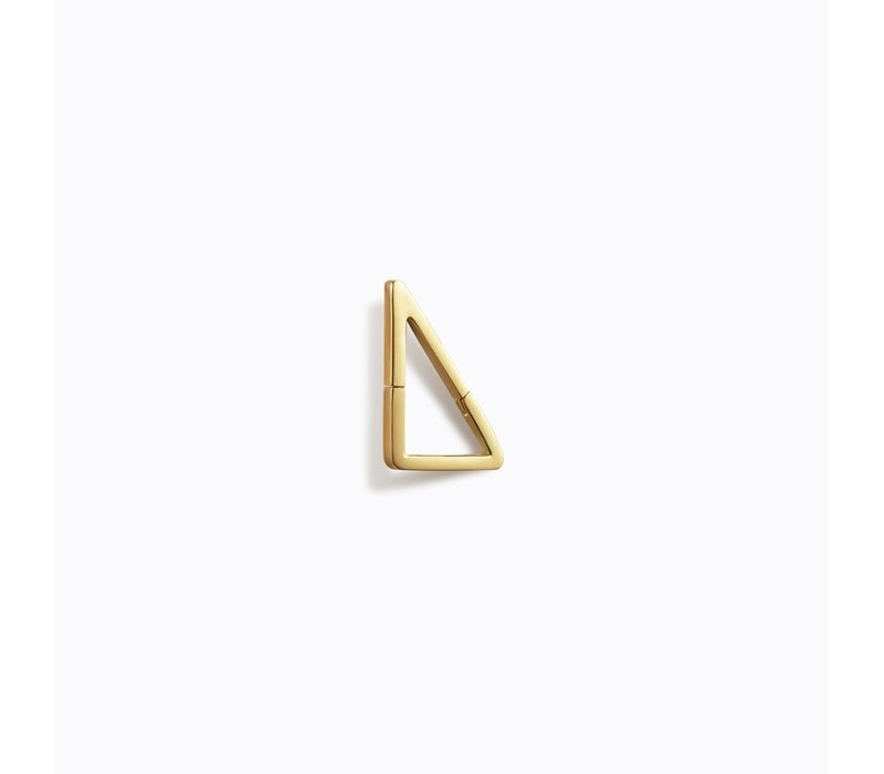 Shihara Triangle Form Earring 03 10mm