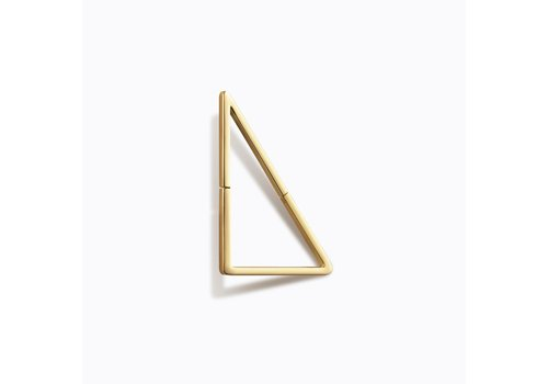Shihara Triangle Form Earring 03 20mm