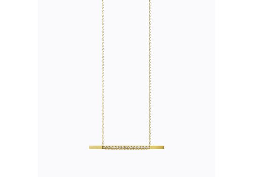 Shihara Diamond Bar Necklace 05