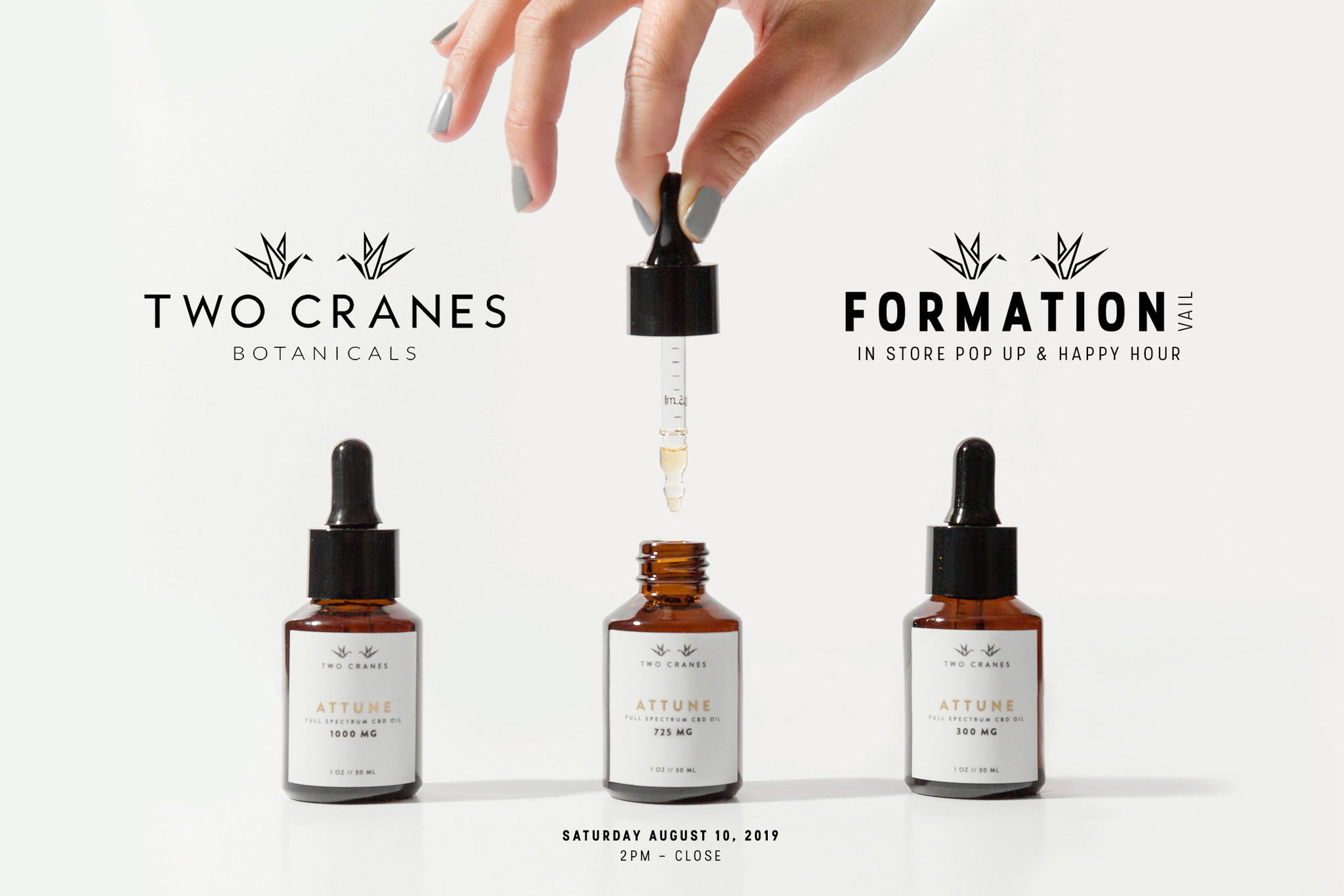Two Cranes Botanicals | In Store Event