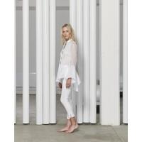 White Story Organza DIanna Shirt