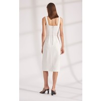 Dion Lee Truss Pleat Corset Dress