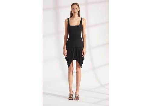 Dion Lee Truss Pleat Mini Dress