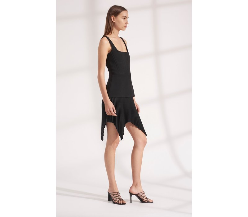Dion Lee Truss Pleat Mini Dress