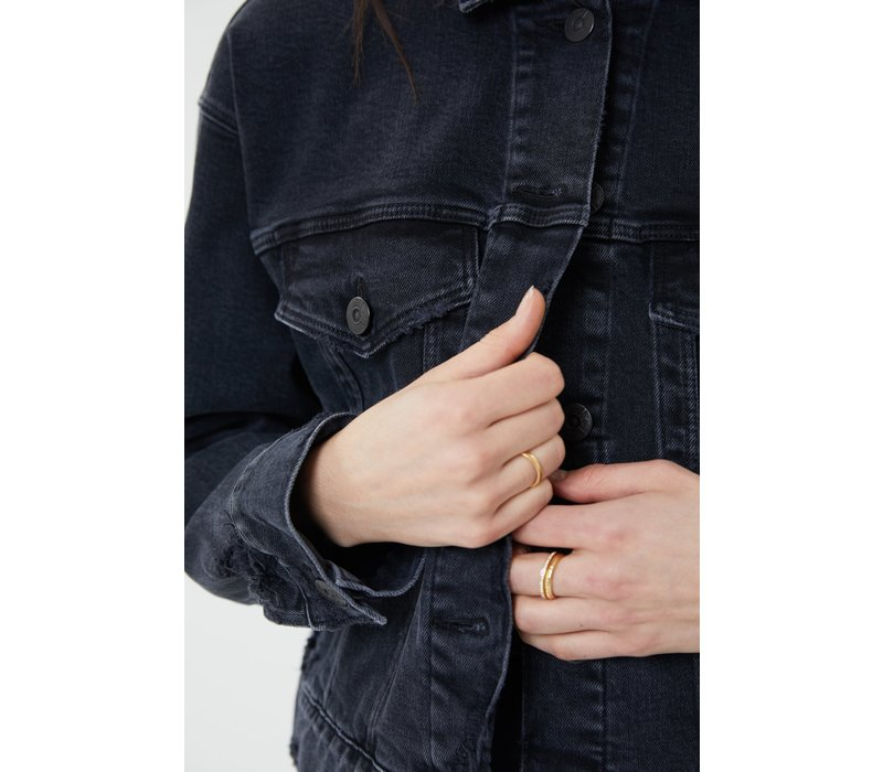 3x1 Oversized Classic Crop Jacket