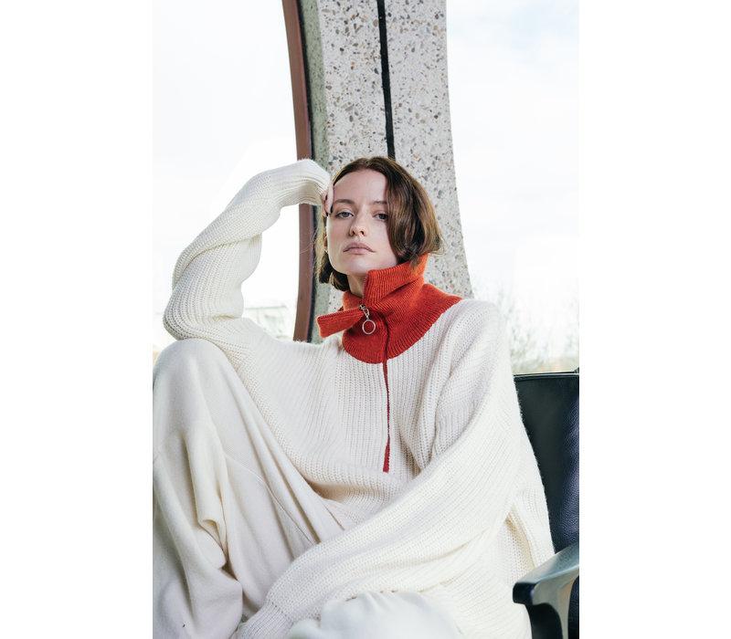 Valentine Witmeur Lab Zipist Bis Sweater