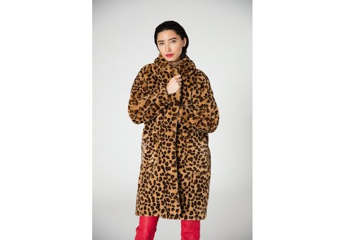 Veda Bexar Faux Fur Coat